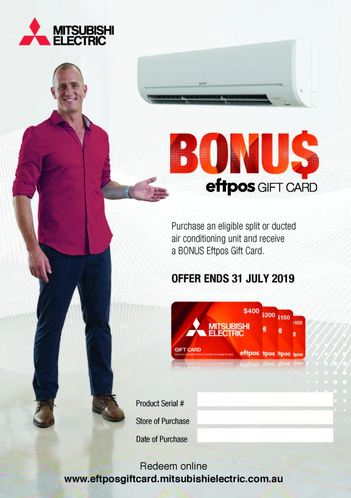 Mitsubishi Electric Winter 2019 Promotion